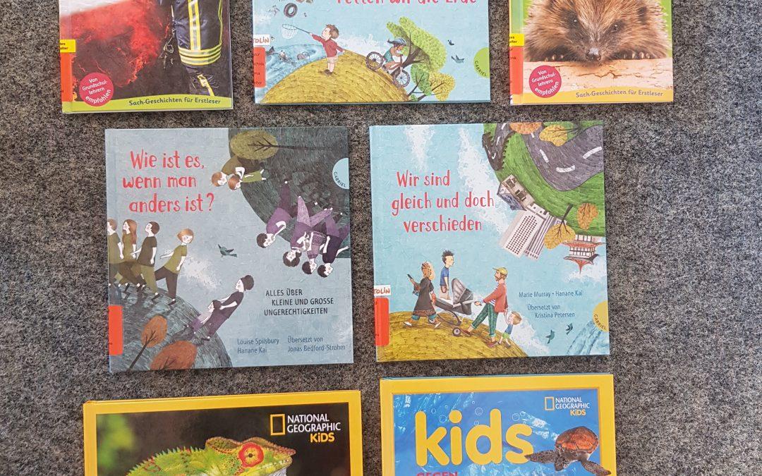 Neue Kindersachbücher